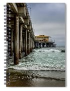 Mariasol On The Pier 2 Spiral Notebook