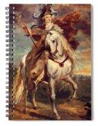 Marie De Medici At Pont De Ce Spiral Notebook