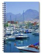 Marina Of Costa Adeje Spiral Notebook