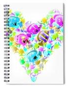 Marine Love Spiral Notebook