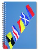 Maritime Signal Flags Spiral Notebook