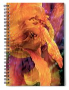 Marmalade Bloom Spiral Notebook