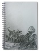 Martyrs' Square Statue-beirut Spiral Notebook