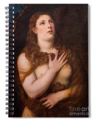Mary Magdalene Repentant Spiral Notebook