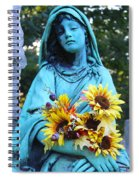 Mary, Mother Of Jesus Spiral Notebook