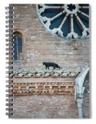 Mary's Cat Spiral Notebook
