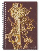 Master Key Spiral Notebook