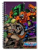 Masters Of The Universe Spiral Notebook