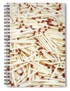 Matches Spiral Notebook