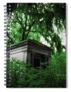 Mausoleum In Georgia IIi Spiral Notebook