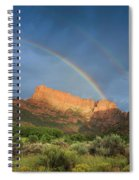 Maxwell Canyon Rainbow Spiral Notebook