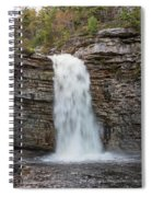 May Evening At Awosting Falls II Spiral Notebook