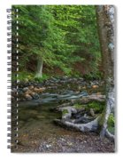 May Morning At The Coxing Kill Spiral Notebook