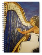 May The Strings Make You Smile Spiral Notebook