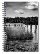 Mccormack's Beach Provincial Park, Black And White Spiral Notebook