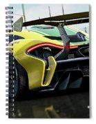 Mclaren P1 Gtr - 01 Spiral Notebook