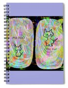 Me Too Cats Spiral Notebook