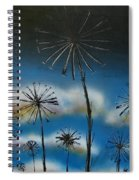 Meadow At Dawn Spiral Notebook