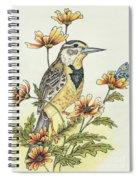 Meadow Song Spiral Notebook