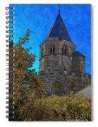 Medieval Bell Tower 3 Spiral Notebook