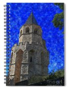 Medieval Bell Tower 4 Spiral Notebook