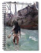 Medieval Legend 017 Spiral Notebook