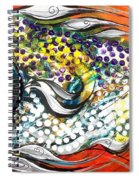 Mediterranean Fish Spiral Notebook