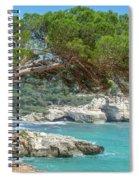Mediterranean Landscape In Menorca Spiral Notebook