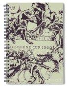 Melbourne Cup 1960 Spiral Notebook