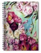 Melting Flowers Spiral Notebook