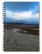 Meltwater Valley On Svalbard Spiral Notebook