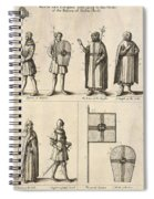 Members Of The Order Of Christ  Spiral Notebook