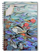 Memory Of The Coral Reef Spiral Notebook