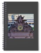 Mercury Above Grand Central Spiral Notebook