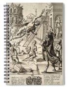 Mercury And Aeneas  State    Spiral Notebook