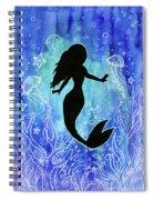 Mermaid Under Water Spiral Notebook