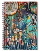 Mermaids Dream Spiral Notebook
