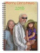 Merry Christmas 2018 Spiral Notebook