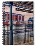 Merry Christmas From Bristol Spiral Notebook