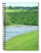 Mertoun Salmon Beat On River Tweed Spiral Notebook