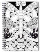 Metamorphosis Arrangement 1 Spiral Notebook
