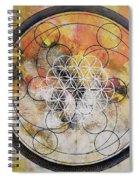 Metatronic Spiral Notebook