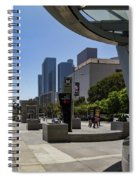 Metro Station Civic Center Los Angeles Spiral Notebook