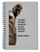 Michael Jordan - Practice Spiral Notebook
