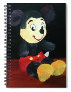 Mickey 1965 Spiral Notebook
