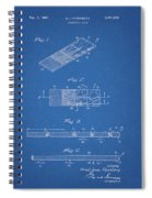 Microscope Slide Patent Spiral Notebook