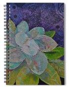 Midnight Magnolia I Spiral Notebook