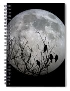 Midnight Moonshiners  Spiral Notebook