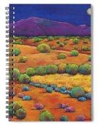 Midnight Sagebrush Spiral Notebook