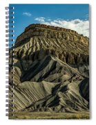 Mighty Mt. Garfield Spiral Notebook